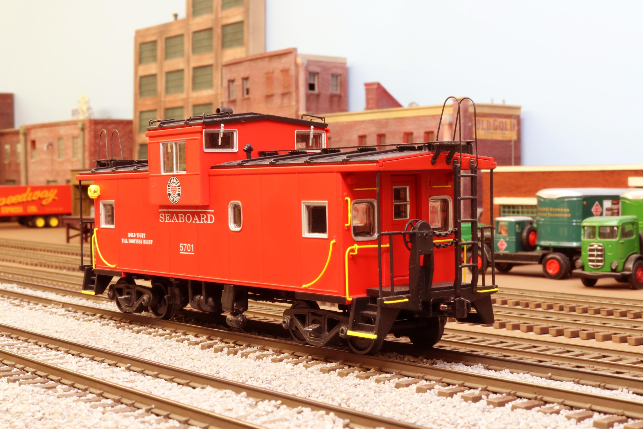 Lanes Trains Caboose