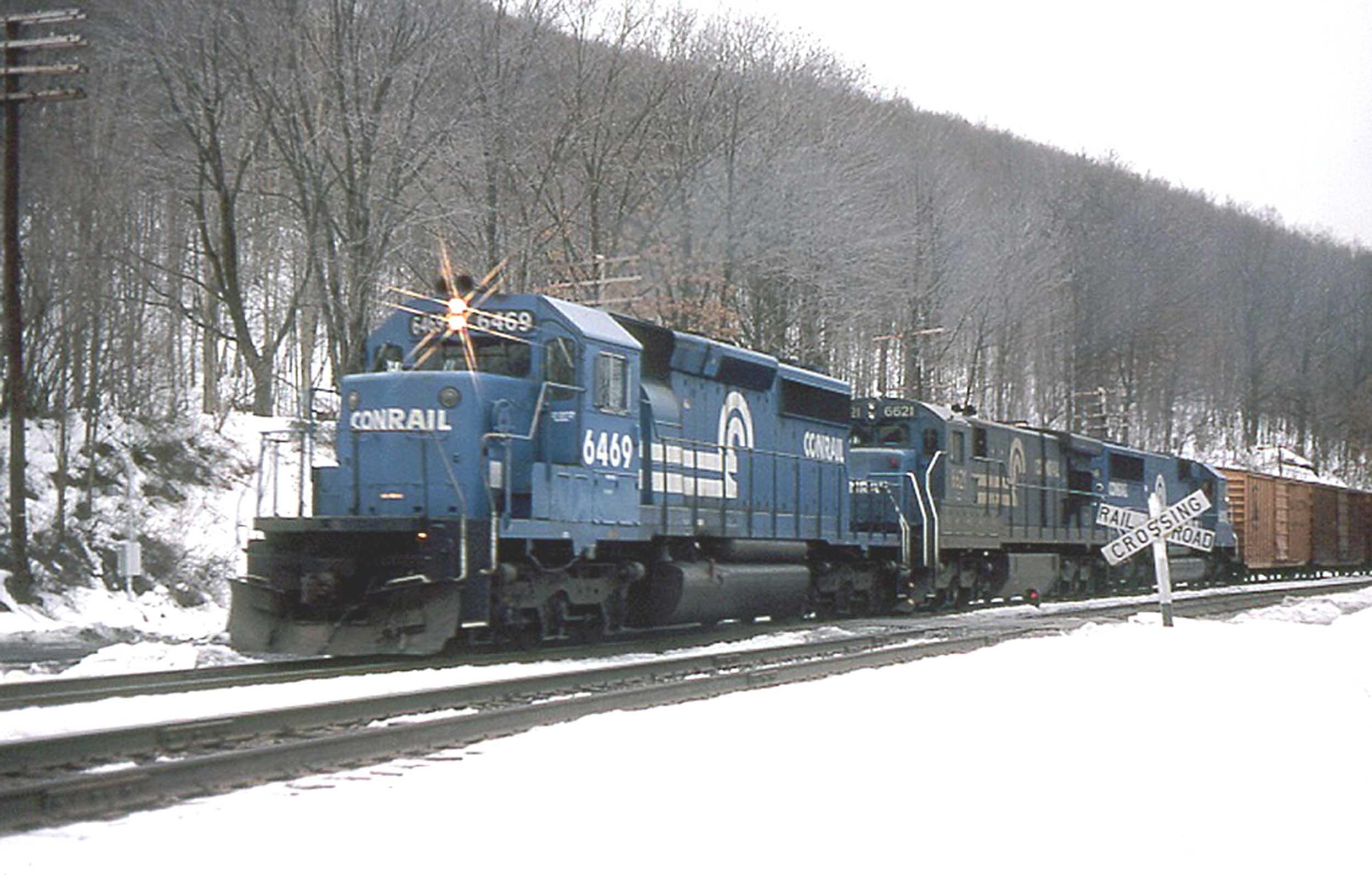 Lanes Trains S Scale Conrail Sd40 2