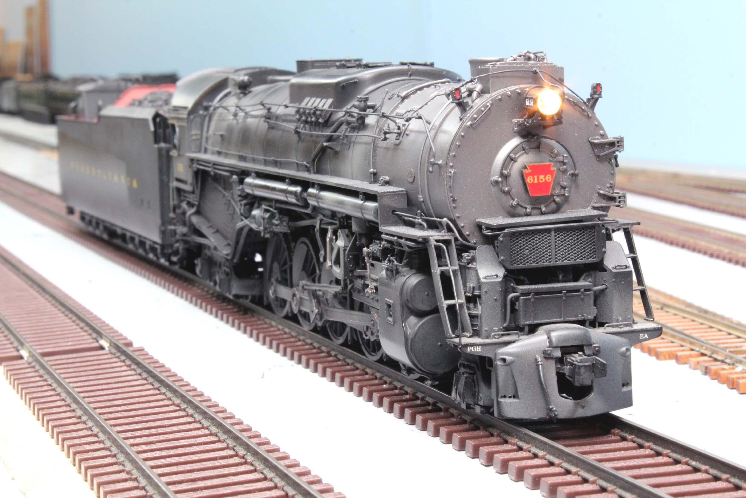 Lanes Trains S Scale PRR J1 6156