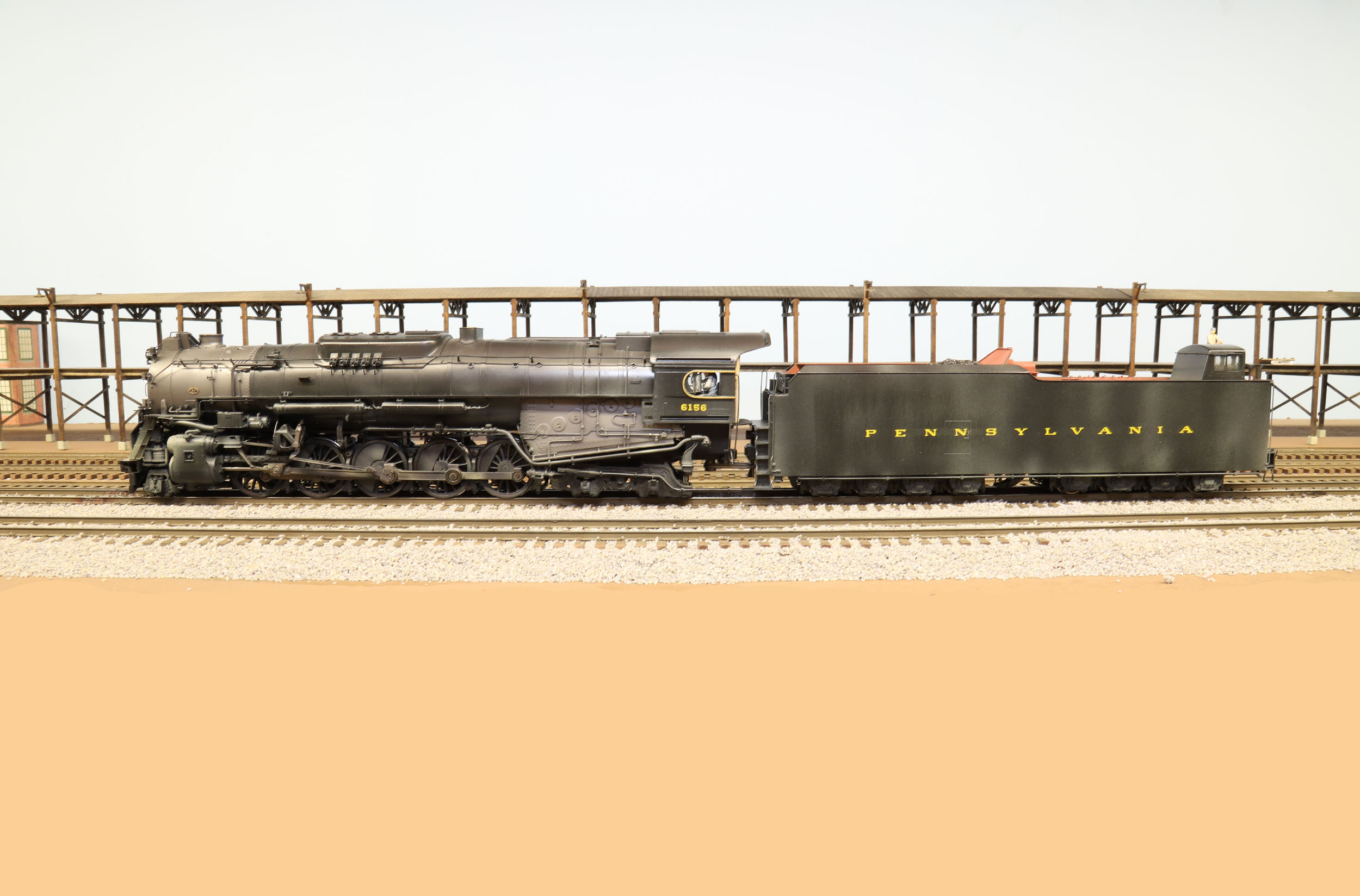 Lanes Trains S Scale PRR J1 6156