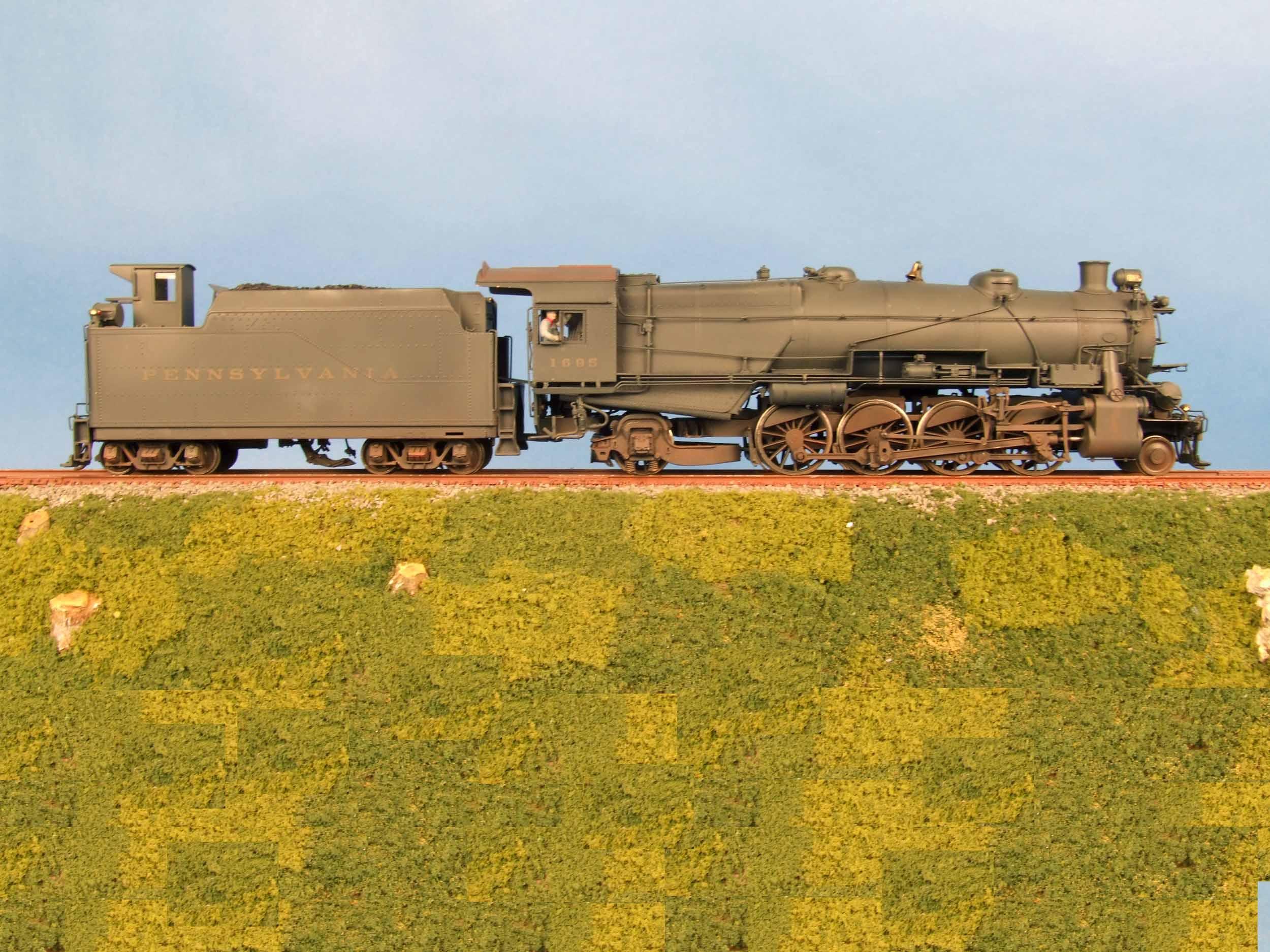 Lanes Trains S Scale PRR L1